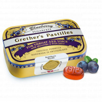 Grether's Blueberry zuckerfrei, 110 G, Hager Pharma GmbH