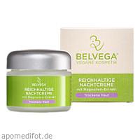 BELVEGA Nachtcreme Trockene Haut, 50 ML, Belvega Naturkosmetik GmbH & Co. KG