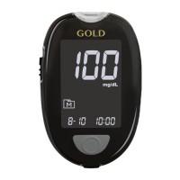 GlucoCheck GOLD Blutzuckermessgerät Set mg/dl, 1 ST, Aktivmed GmbH