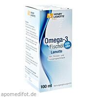Omega-3 Fischöl Lamotte, 100 ML, Henry Lamotte Oils Gmb