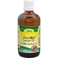 ZeckEx herbal Öl vet, 100 ML, cdVet Naturprodukte GmbH
