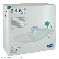 Zetuvit Plus extrastarke Saugkompr steril 20x40 cm, 10 ST, Paul Hartmann AG