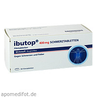 IBUTOP 400 mg Schmerztabletten Filmtabletten, 50 ST, Axicorp Pharma GmbH