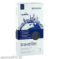 BELSANA traveller A-D Gr. M schwarz Fuß III 43-46, 2 ST, Belsana Medizinische Erzeugnisse
