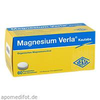 MAGNESIUM VERLA Kautabs, 60 ST, Verla-Pharm Arzneimittel GmbH & Co. KG