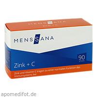 Zink + C MensSana, 90 ST, MensSana AG