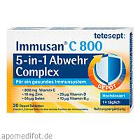 tetesept Immusan C 800 Depot Complex, 20 ST, Merz Consumer Care GmbH