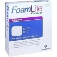 Foam Lite ConvaTec adhäsiv 8x8cm, 10 ST, Convatec (Germany) GmbH