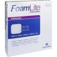 Foam Lite ConvaTec adhäsiv 15x15cm, 10 ST, Convatec (Germany) GmbH