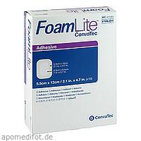 Foam Lite ConvaTec adhäsiv 5.5x12cm, 10 ST, Convatec (Germany) GmbH