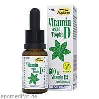 Vitamin D-Tropfen vegan, 15 ML, Espara GmbH