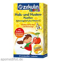 Zirkulin Hals- u. Husten Pastillen Kids, 30 ST, DISTRICON GmbH
