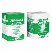 SOFTHAND Copolym.Handsch.puderfr.ster.Gr.L, 100 ST, Diaprax GmbH