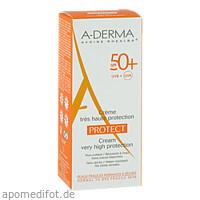 A-DERMA PROTECT Creme SPF 50+, 40 ML, PIERRE FABRE DERMO KOSMETIK GmbH GB - DUCRAY A-DERMA PFD