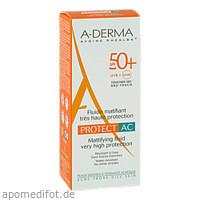 A-DERMA PROTECT AC Mattierendes Fluid SPF 50+, 40 ML, Pierre Fabre Pharma GmbH