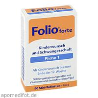 Folio 1 forte, 90 ST, Steripharm Pharmazeutische Produkte GmbH & Co. KG