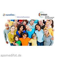 Verwandtschaftstest 3 Personen, 1 ST, Eurofins Medigenomix Forensik GmbH