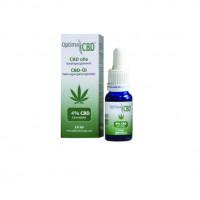 CBD Öl Bio GMP 4%, 10 ML, Optima Formula BV