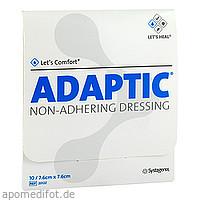 ADAPTIC 7.6x7.6 cm feuchte Wundauflage, 10 ST, Tora Pharma GmbH