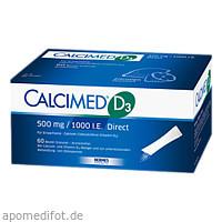 Calcimed D3 500 mg 1000 I.E. Direct, 120 ST, Hermes Arzneimittel GmbH