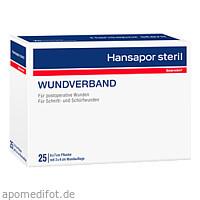 Hansapor steril Wundverband 6x7cm 25er Pack, 25 ST, Beiersdorf AG