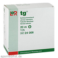 TG Schlauchverband Gr.9 20 m weiss, 1 ST, Tora Pharma GmbH