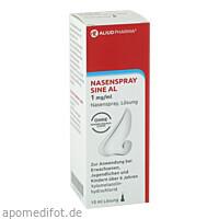 Nasenspray sine AL 1 mg/ml Nasenspray, 10 ML, Aliud Pharma GmbH
