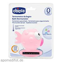 Badethermometer Fisch rosa CHICCO, 1 ST, Habitum Pharma