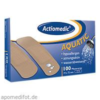 Actiomedic AQUATIC Pflasterstrips 19x72 mm, 100 ST, Gramm Medical Healthcare GmbH