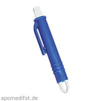 Zeckenzange blau aus Kunststoff, 1 ST, Gramm Medical Healthcare GmbH