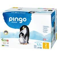 Bio Windeln Mini Jumbo 3-6kg Pinguin - PINGO SWISS, 84 ST, Don Dandrea Deutschland AG