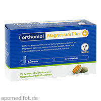 orthomol Magnesium Plus, 60 ST, Orthomol Pharmazeutische Vertriebs GmbH