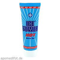 ICE POWER HOT WARM GEL, 75 ML, Apo Team GmbH
