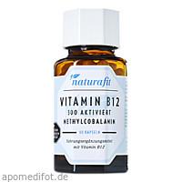 Naturafit Vitamin B12 500 aktiviert, 90 ST, Naturafit GmbH