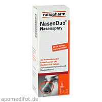NasenDuo Nasenspray, 10 ML, ratiopharm GmbH