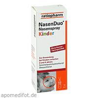 NasenDuo Nasenspray Kinder, 10 ML, ratiopharm GmbH