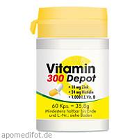 Vitamin C 300 Depot + Zink + Histidin + D, 60 ST, Pharma-Peter GmbH