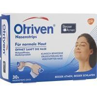 OTRIVEN Besser Atmen Nasenstrips groß beige, 30 ST, GlaxoSmithKline Consumer Healthcare