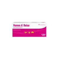 Vomex A Reise 50 mg Sublingualtabletten, 10 ST, Klinge Pharma GmbH