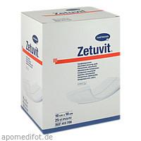 ZETUVIT Saugkompresse steril 10x10 cm, 25 ST, B2b Medical GmbH