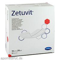 ZETUVIT Saugkompresse unsteril 10x20 cm, 30 ST, B2b Medical GmbH