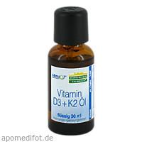 Vitamin D3 + K2 Öl, 30 ML, Heidelberger Chlorella GmbH