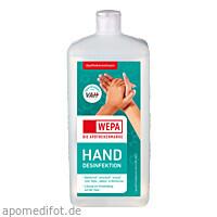 WEPA Handdesinfektion 1000 ml, 1000 ML, Wepa Apothekenbedarf GmbH & Co. KG