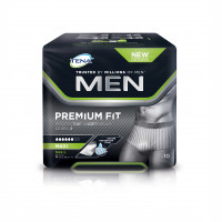 TENA Men Level 4 Premium Fit Prot. Underwear Gr. L, 10 ST, Essity Germany GmbH