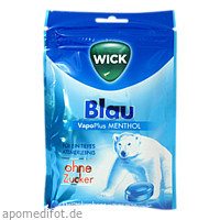 WICK Blau Menthol oZ Beutel, 72 G, Dallmann's Pharma Candy GmbH