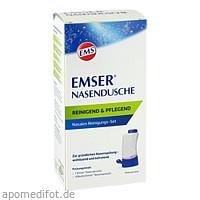 EMSER Nasendusche mit 4 Btl. Nasenspülsalz, 1 ST, Sidroga Gesellschaft Für Gesundheitsprodukte mbH