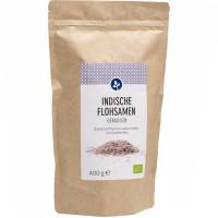 Indische Flohsamen gemahlen Bio, 400 G, Aleavedis Naturprodukte GmbH