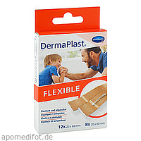 DermaPlast FLEXIBLE Pflasterstrips 2 Größen, 20 ST, Paul Hartmann AG