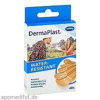 DermaPlast WATER-RESISTANT Pflasterstrips 5 Größen, 40 ST, Paul Hartmann AG