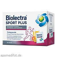 Biolectra Sport Plus Trinkgranulat, 20X7.5 G, Hermes Arzneimittel GmbH
